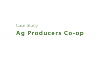 Case Study: Ag Producers Co-op and Greenstone